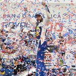 Chase Elliott wrecks, then wins wild race at Charlotte Roval