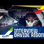 4 hours of Shanghai 2019 - Interview Davide Rigon