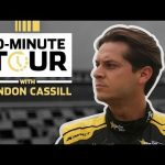 Landon Cassill takes us through the ISM Raceway garage: 10-Minute Tour
