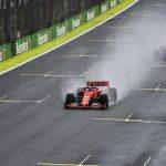 Brazilian Grand Prix practice: Alex Albon fastest but crashes