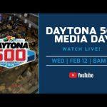 LIVE: Daytona 500 Media Day