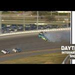 Chase Elliott and Kyle Larson tangle at Daytona | NASCAR Cup Series at Daytona