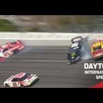 Herbst and Snider make contact at Daytona