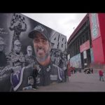 Sights and Sounds from the Jimmie Johnson mural at Auto Club Speedway