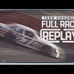 Classic Full Race Replay: 1988 Phoenix | NASCAR Cup Series