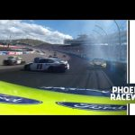 Hamlin, Blaney sustain damage after early Phoenix restart | NASCAR at Phoenix Raceway