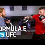 UFC vs Formula E - Sam Bird Trains With Dan Hardy