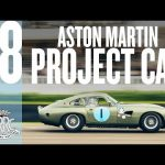 Ultra-rare Aston Martin Project 212 slides around Goodwood