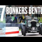 Bonkers Bentley attacks Goodwood head on!