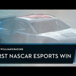 """What a win!"" Williams Esports takes it's first Nascar Esport victory"