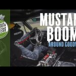 Mustang V8 sounds better onboard!