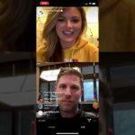 Instagram Live with Denny Hamlin | eNASCAR