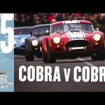 Epic all-Cobra Goodwood battle