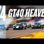 Mind-blowing field of Ford GT40s battles round Goodwood