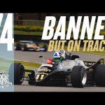 Dario Franchitti drives the banned Lotus 88