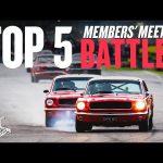 Top 5 Goodwood Members' Meeting battles!