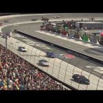Jeb Burton and others caught up in a wreck at Bristol | iRacing's Saturday Night Thunder