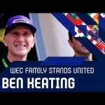 The WEC family stands united: Ben Keating