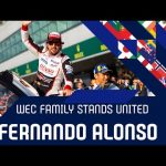 The WEC family stands united: Fernando Alonso