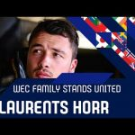 The WEC family stands united: Laurents Hörr