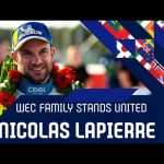 The WEC family stands united: Nicolas Lapierre