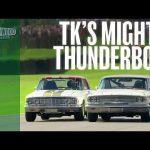 Mighty 7.0-litre Ford Fairlane Thunderbolt carves through the field