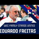The WEC family stands united: Eduaro Freitas