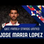 The WEC family stands united: Jose Maria Lopez