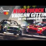 Ryan Tuerck v Vaughn Gittin Jr on the Goodwood hill