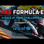 LIVE Round 1 Race! | ABB Formula E Race At Home Challenge In Support Of UNICEF