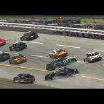Several cars involved in early 'Big One' at Talladega | iRacing's Saturday Night Thunder