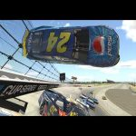 In-car: First person look at Jeff Gordon's iRacing crash