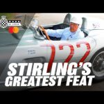Stirling Moss leads stunning Mercedes 300SLR parade