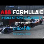 Round 3 Race LIVE! ABB Formula E Race At Home Challenge In Support Of UNICEF