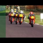 Barry Sheene battles in epic five-way bike fight