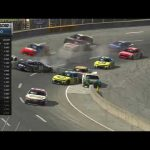 Landon Cassill spins, brings out 'Big One' at North Wilkesboro | NASCAR