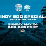 'Back Home Again' To Give Inside Look at 2019 Indy 500 May 24 on NBC Sports