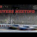 Live: Darlington Raceway Drivers Meeting | Darlington Raceway