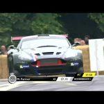 Screaming V12 Aston Martin DBRS9 at Goodwood