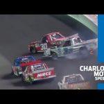 Stewart Friesen, Jesse Iwuji trigger wreck at Charlotte | Gander Trucks at Charlotte Motor Speedway