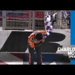 Elliott caps off Gander Trucks win with a Busch bow | NASCAR Trucks at Charlotte Motor Speedway