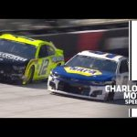 Blaney, Elliott battle for the lead at Bristol | NASCAR