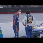 Exclusive angle: Exchange between Logano, Elliott following Bristol | NASCAR