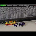 Stop Motion NASCAR: Brad Keselowski capitalizes off of Chase and Joey's late wreck at Bristol