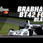Brabham BT42 blasts FOS with DFV roar