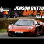 Jenson Button takes on FOS in McLaren MP4-12C