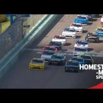 Dale Jr. leads field to green on restart, Gragson gets sideways at Miami | NASCAR